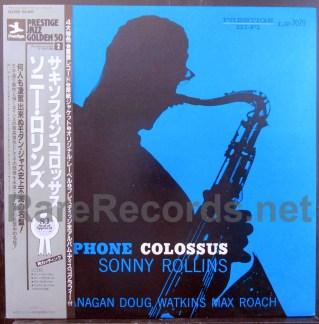 sonny rollins - saxophone colossus japan lp