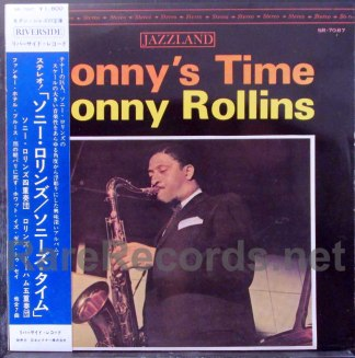 sonny rollins - sonny's time japan lp