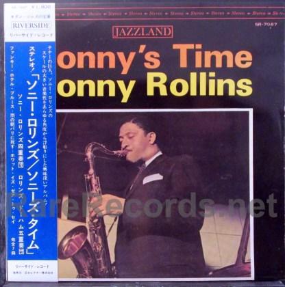 sonny rollins - sonny's time japan lp