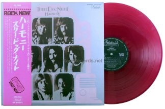 three dog night - harmony japan red vinyl lp