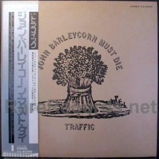 Traffic - John Barleycorn Must Die Japan lp
