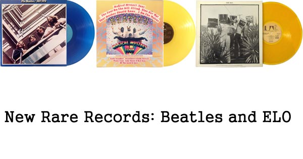 new rare records - beatles, electric light orchestra, elo