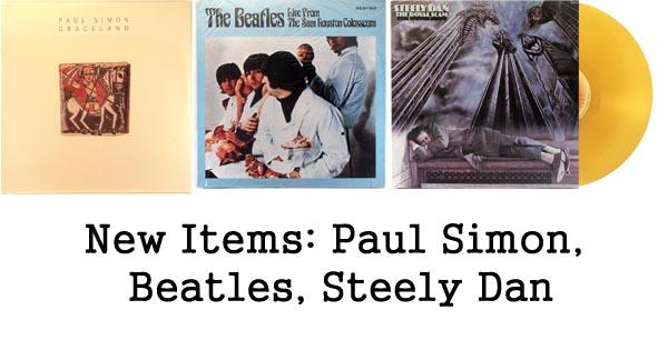 rare records, paul simon, beatles, steely dan