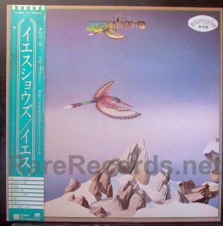 yes - yesshows japan promo lp
