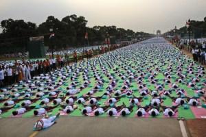 Journée mondiale du Yoga en Inde