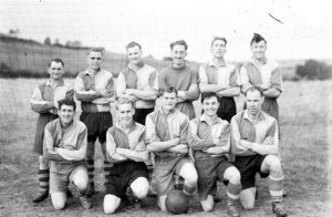 19. Soccer. Rasen Mail glass neg. 0019