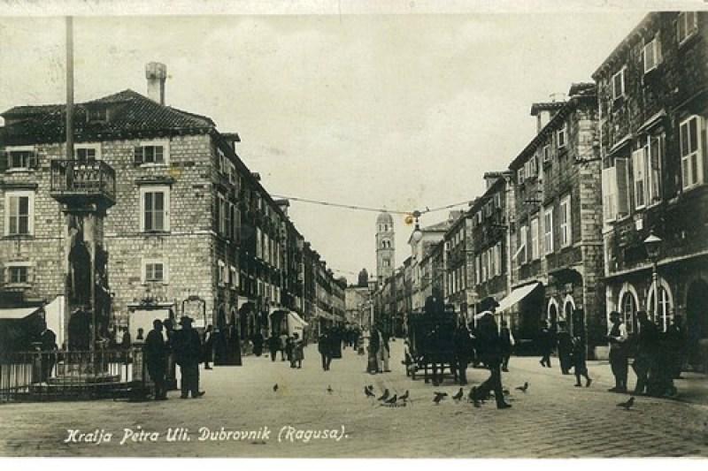 Dubrovnik - Ulica Kralja Petra