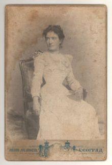 Анђелија Станчић-Спајић, 1901.