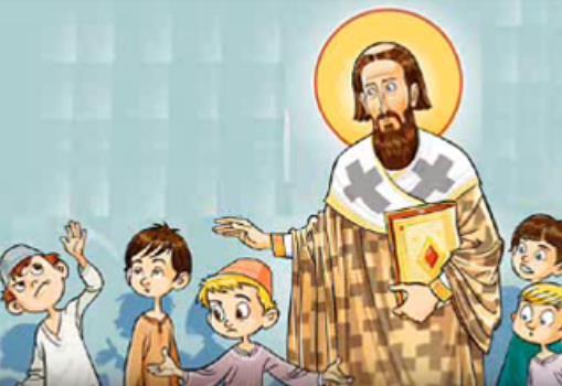 Свети Сава и ђаци (Цртани филм - Народна легенда) – РАСЕН