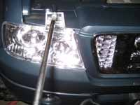 Power Wheels LED Headlight install