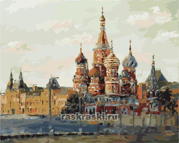 «Храм Василия Блаженного на Красной площади» Menglei MG ...