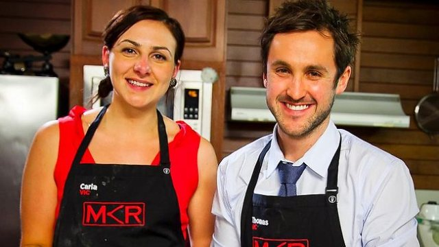My Kitchen Rules Tom Carr and Carla Mangion