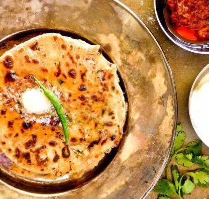 Stuffed Mooli Paratha Recipe by rasoi menu