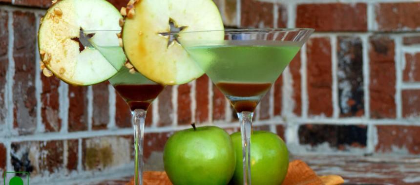Bad Apple Martini Cocktail Recipe