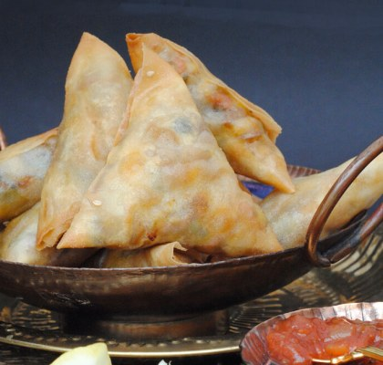 farali samosa recipe by rasoi menu