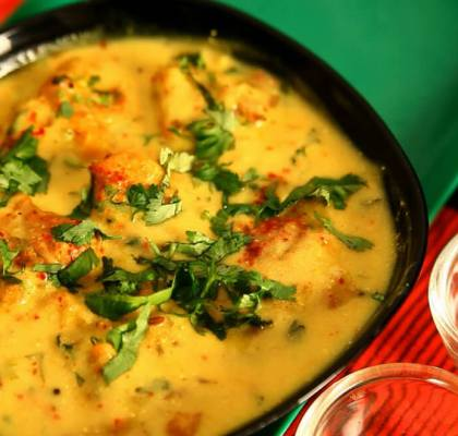 Sindhi Kadhi Recipe by rasoi menu