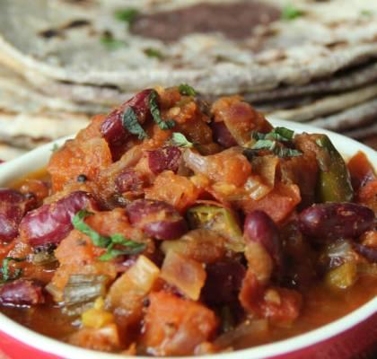 rajma paratha recipe by rasoi menu
