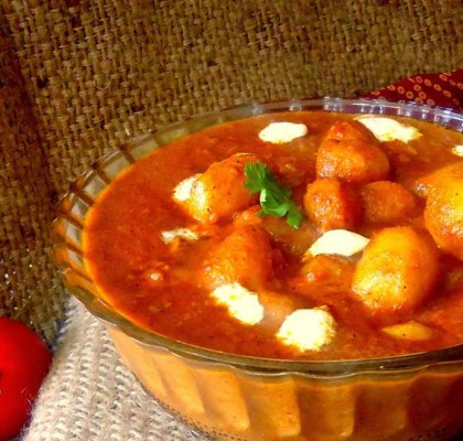 Kashmiri Dum Aloo recipe by Rasoi Menu