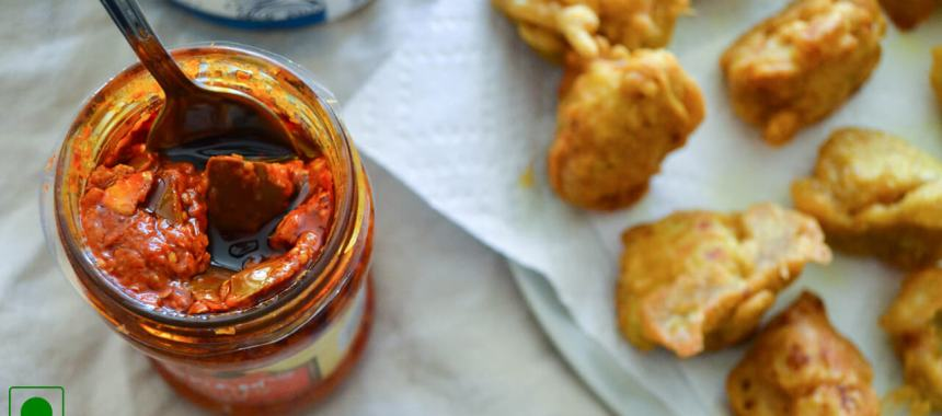 Kacha Kela Na Bhajiya Recipe
