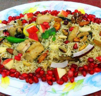 Kashmiri Pulao Recipe by Rasoi Menu
