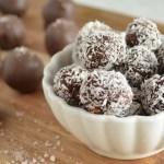 Chocolate Coconut Rum Truffles