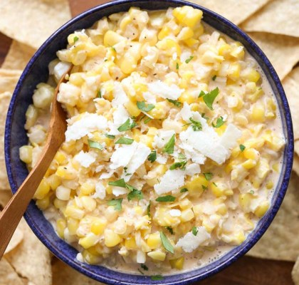 corn dip recipe by rasoi menu