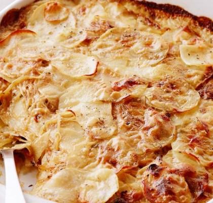 delicious au gratin potatoes recipe by rasoi menu