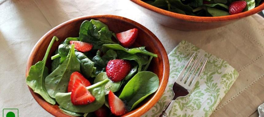 Spring Spinach Salad Recipe