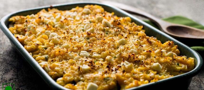 Sweet Corn and Potato Gratin Recipe