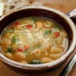 Escarole, White Bean and Turkey Soup