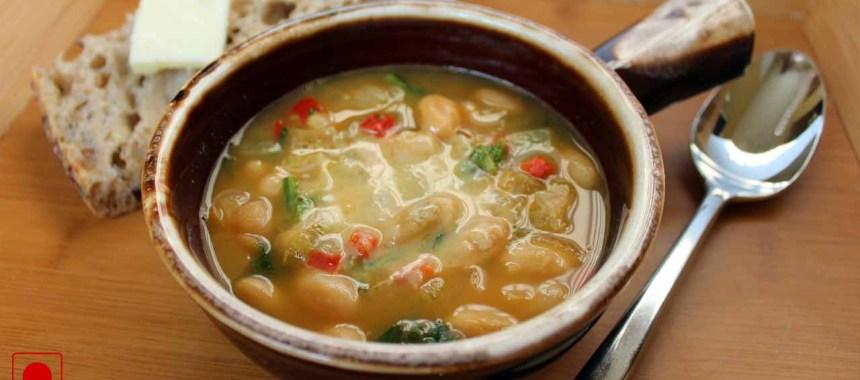 Escarole, White Bean and Turkey Soup Recipe