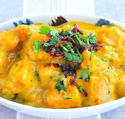 sweet and sour pumpkin recipe by rasoi menu