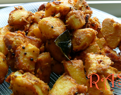 Fried Arbi Recipe by Rasoi Menu