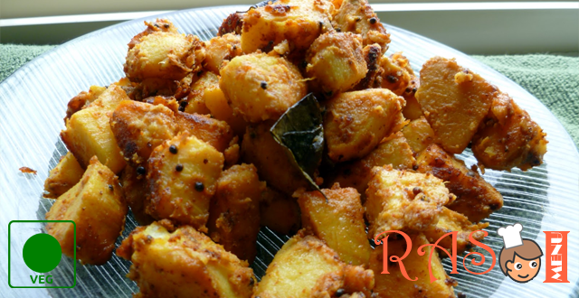 Fried Arbi Recipe