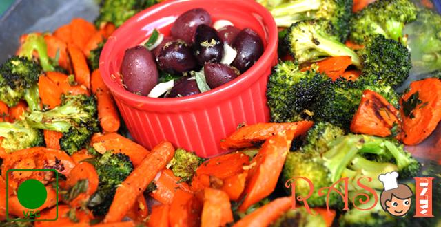 Broccoli and Carrot Bake Recipe