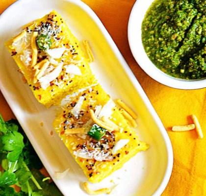 Rava Dhokla Recipe