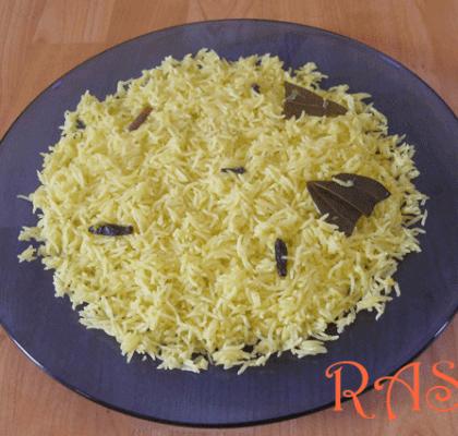 Kesar Rice Recipe