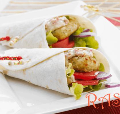 Mexican Fish Wraps Recipe
