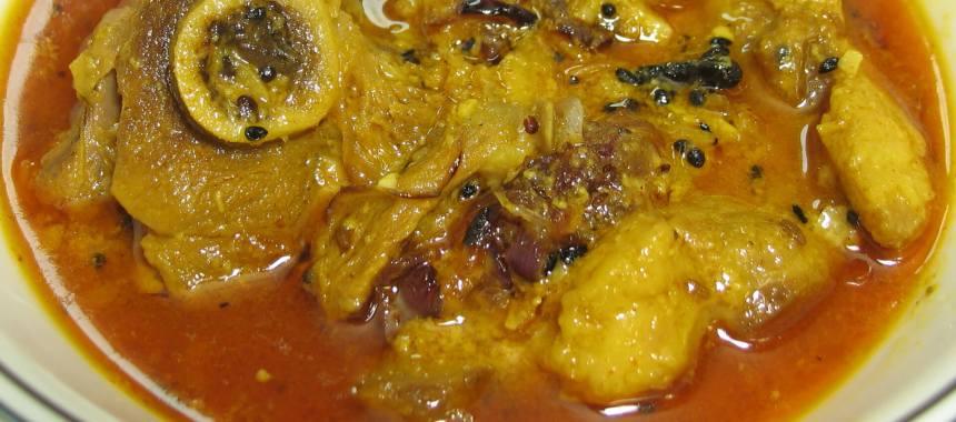 Achaari Hara Mutton Recipe
