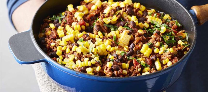 Chilli Corn Rice Recipe