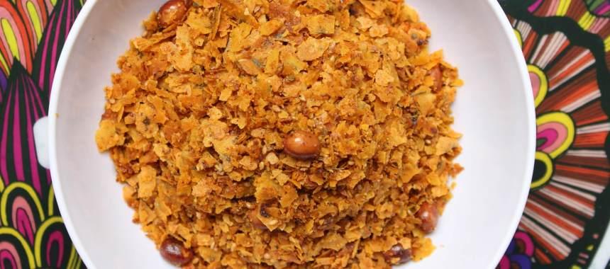 Khakhra Papad Chivda Recipe