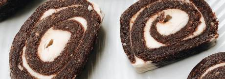 Chocolate Oats Pinwheels Recipe