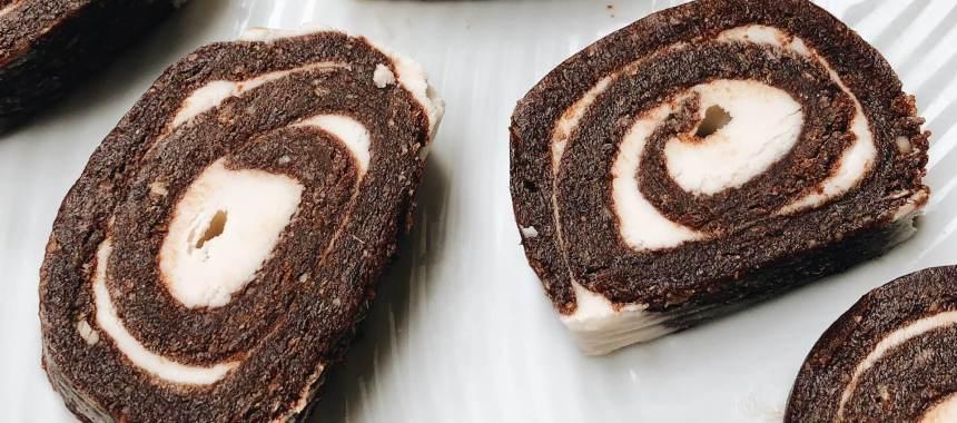 Chocolate Oats Pinwheels Recipe