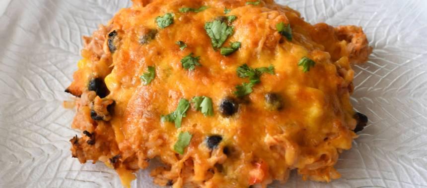 Fiesta Chicken and Rice Bake Recipe