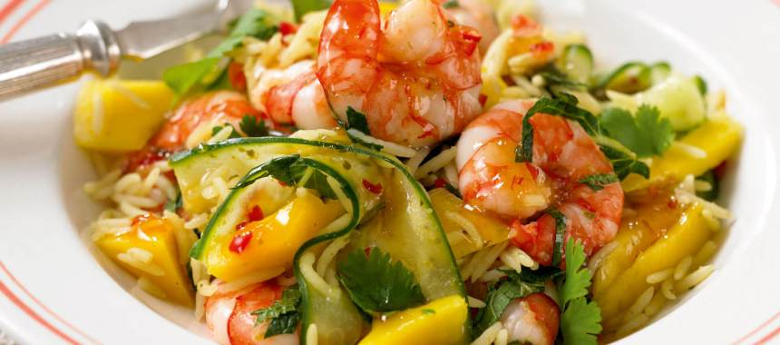 Prawn and Mango Salad Recipe