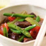 Beef with Ginger Sauce