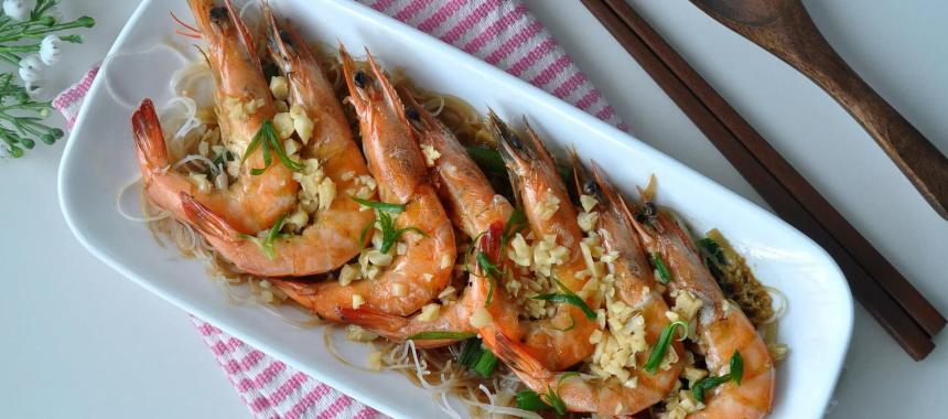 Steamed Prawns Recipe