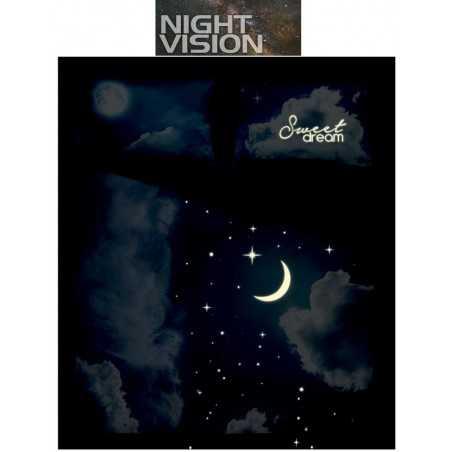 Complete duvet cover set bassetti la natura rain of stars. Compra Online Pioggia Di Stelle Bassetti Raso Line L F D Home
