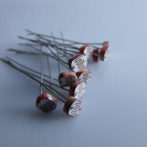 20 Pezzi LDR Photoconductive cell 1k 5528 - Photo resistenza arduino compatibile