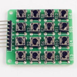 Expand outside-line bottone, 4X4 matrix Tastiera, 16 keys, microcontroller Tastiera Modulo